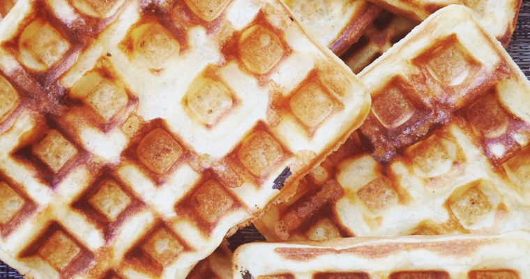 Insanely Delicious Gluten Free Waffles