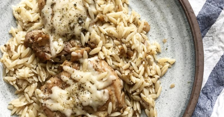 Herb Chicken and Orzo